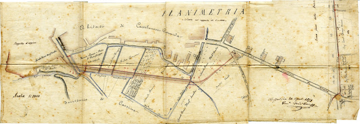 Planimetria Argine 1879