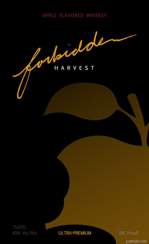 Forbidden Harvest Apple Flavored Whiskey