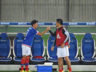 横浜F・マリノス栗原勇蔵と富樫敬真