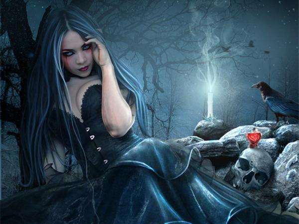 Ritual Of Black Sculls, Gothic