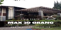 Villa Untuk Rombongan Kumpul-kumpul