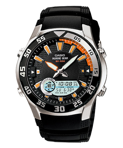 Casio Outgear Fishing Gear : aw-82b