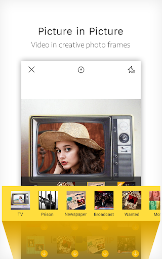 V Camera-Beauty Camera, Music Video, PIP 3.1.1 screenshots 2