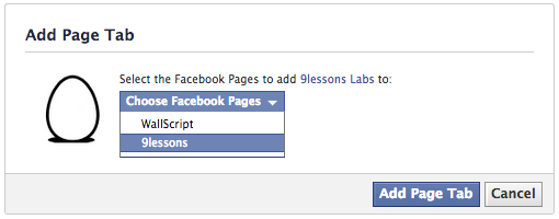 Create Custom Facebook Application