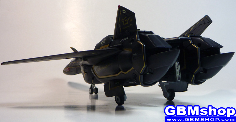 Macross VF-X VF-19A Black Excalibur Fighter Mode