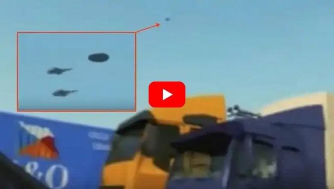 UFO, vídeo mostra dois aviões militares britânicos que interceptam um disco voador