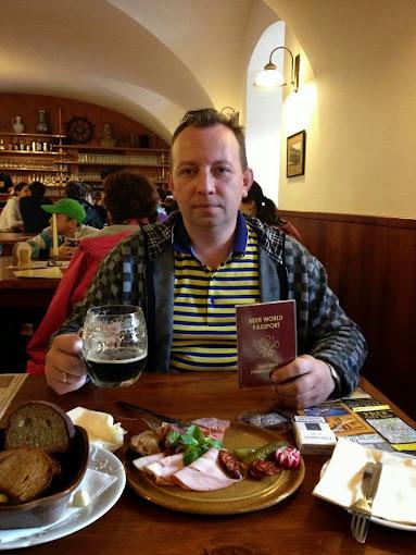 Пивной паспорт, в Страховской пивоварне