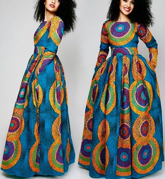INVENTIVE AND TRENDY MOST RECENT ANKARA OUTFITS FOR WOMEN_ANKARA LONG OUTFITS DESIGNS 4