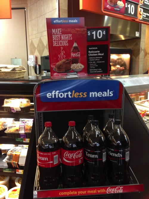 Effortless meals at Walmart featuring coke.JPG