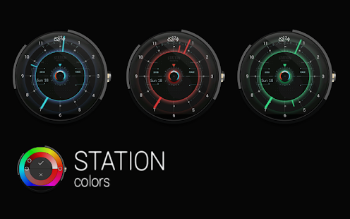 STATION - Watch face Screenshot 7