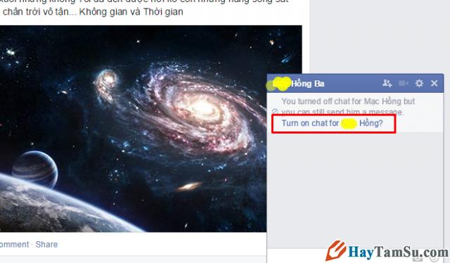 mở khóa chat facebook cho người bị khóa