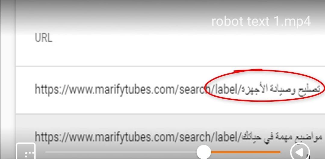 label حيث لايجب أن يفهرسها google