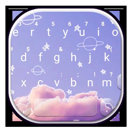 Doodle Sky Keyboard Theme icon