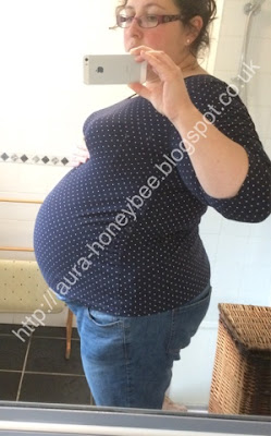 Bump at 35 Weeks + 4