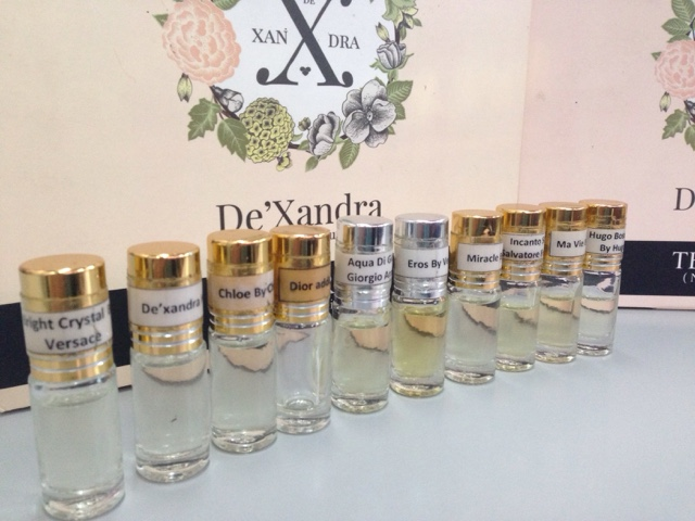 Tester Kit Minyak Wangi De'Xandra