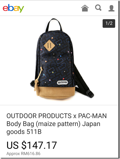 Outdoor Products X Pacman Chest Bag