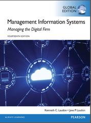 buku sistem informasi manajemen yang ditulis oleh Laudon & Laudon (2016)