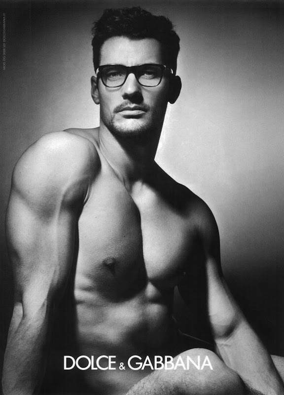 David Gandy by Mariano Vivanco for Dolce & Gabanna Eyewear, F/W 2011