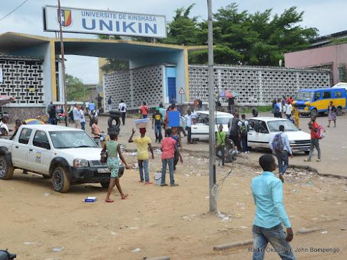 UNIKIN : la grève des professeurs se poursuit