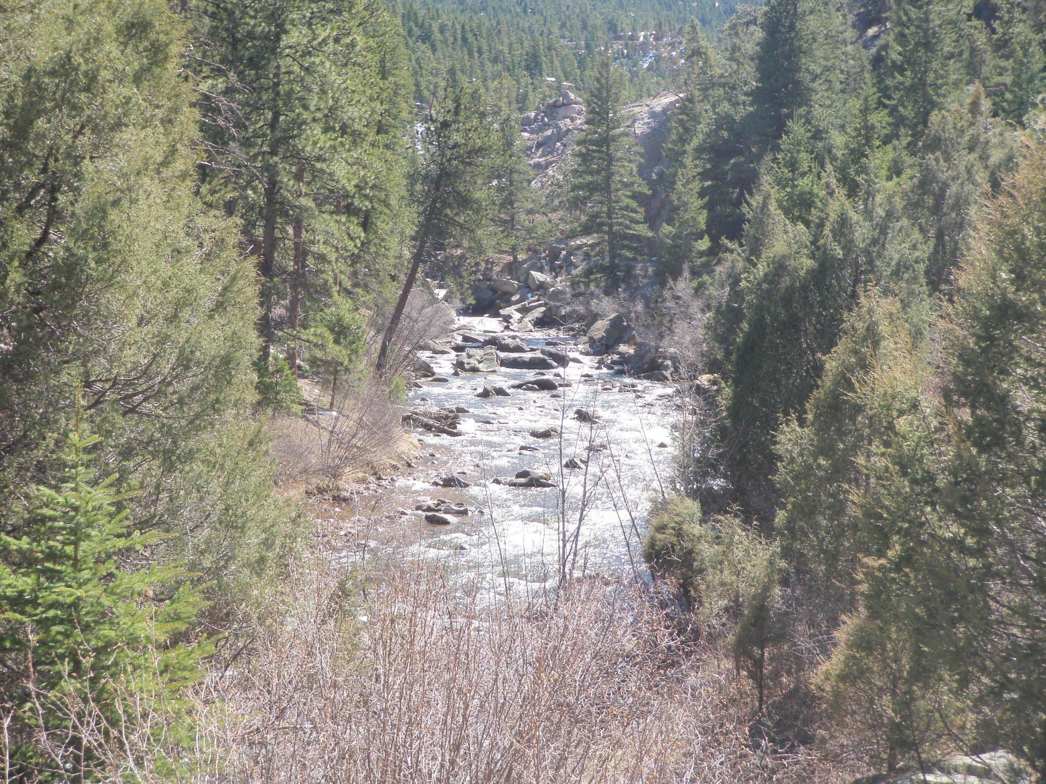 South boulder creek 04 06 2016 dave weller 39 s fly for Boulder creek fishing