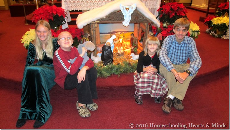 Christmas at Homeschooling Hearts & Minds