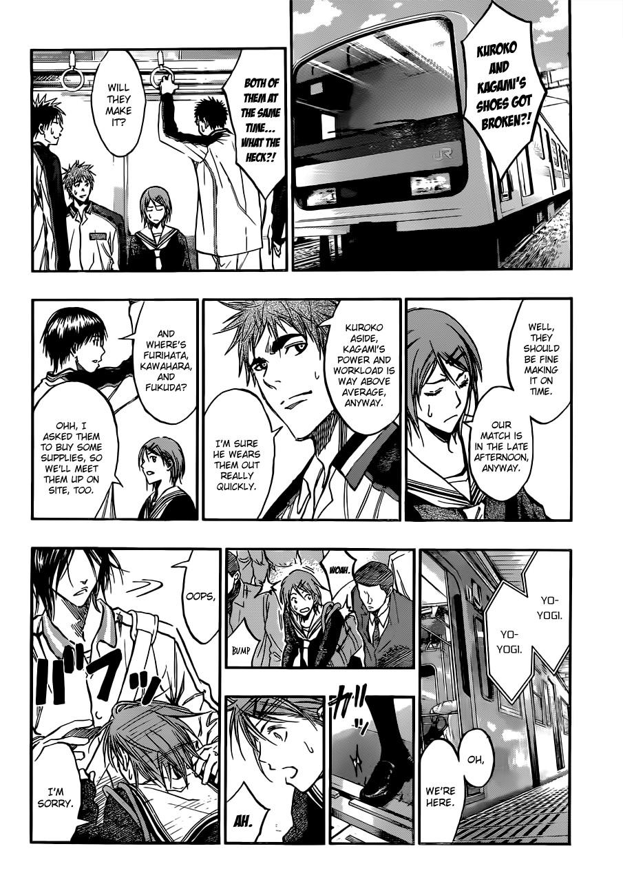 Kuroko no Basket Manga Chapter 174 - Image 08