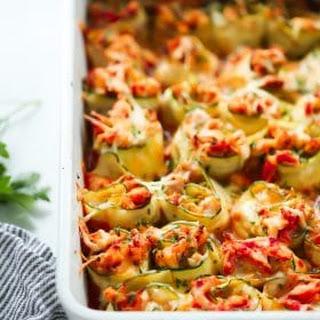 4-Ingredient Chicken Zucchini Rolls.