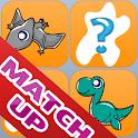 Dinosaur Match Up icon
