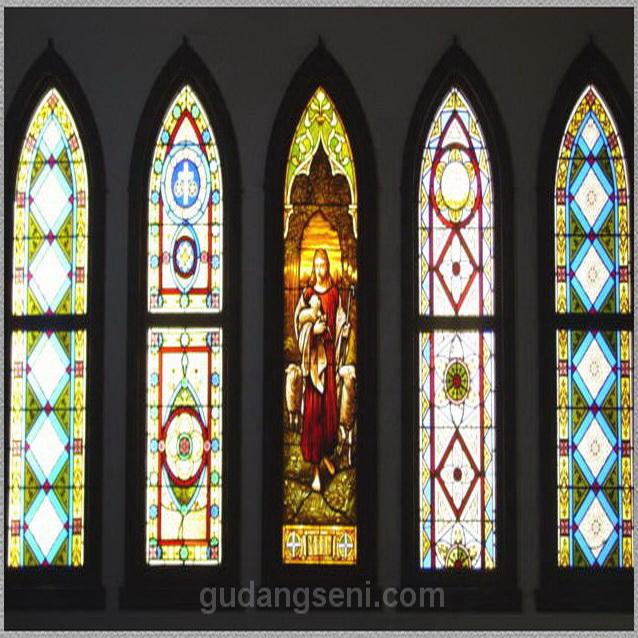 ... Patri Gereja, Kaca Patri Masjid, Kubah Kaca, Kaca Patri Boven Light