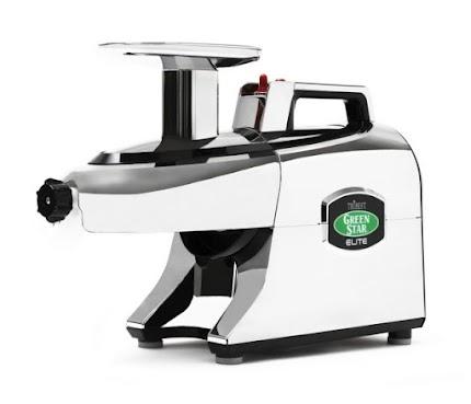 Двошнекова соковижималка Green Star Elite GSE - 5050 Chrome