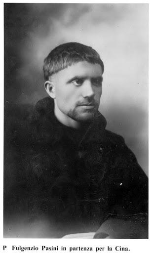P. Fulgenzio Pasini (ofm) nel 1925