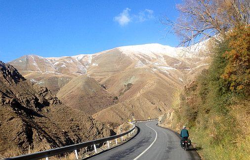 Auffahrt zum Kandovan-Tunnel, Chalus-Road, Iran