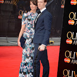 OIC - ENTSIMAGES.COM - Edward Watson and Lauren Cuthbertson at the The Olivier Awards in London 12th April 2015  Photo Mobis Photos/OIC 0203 174 1069