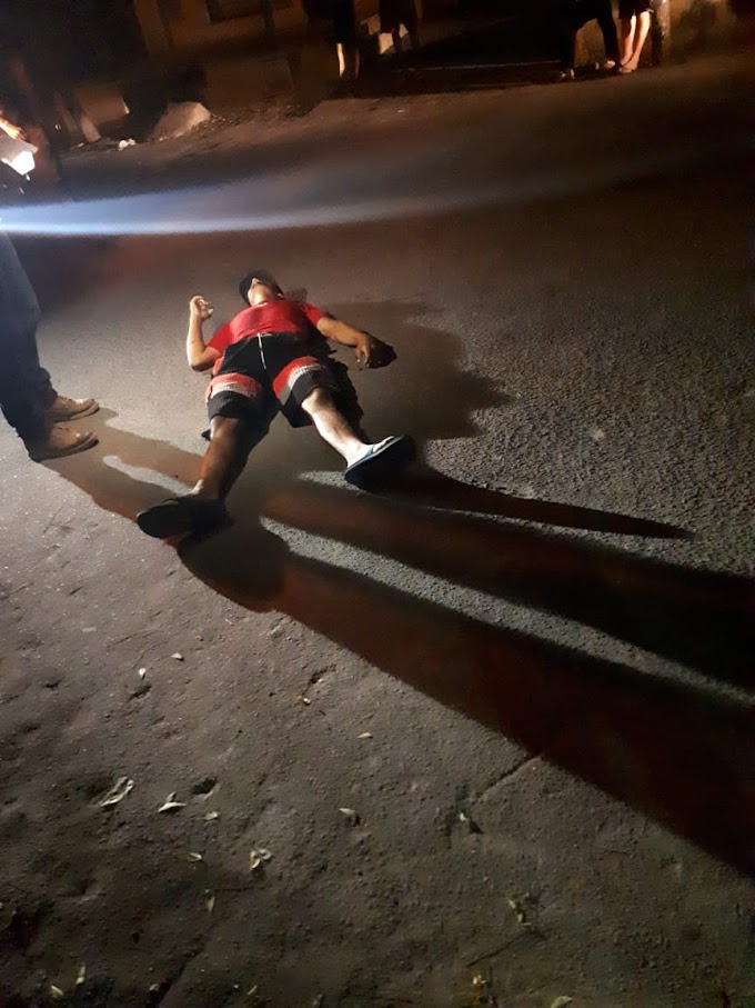 HOMEM EXECUTADO A TIROS NESTA MADRUGADA DE DOMINGO EM CRATEÚS