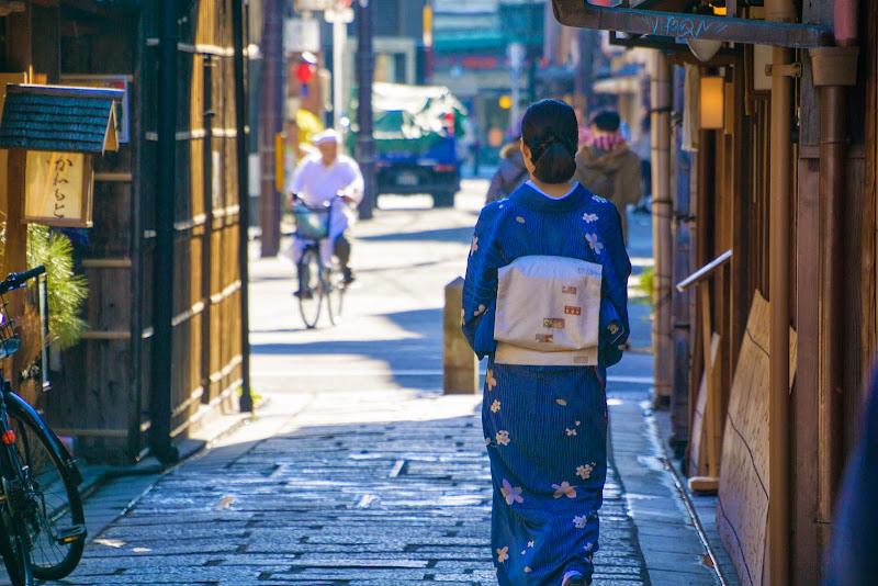 京都 祇園 切り通し 写真1