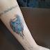 Covid-19: ex-paciente tatua homenagem a profissionais do Hospital de Trauma de JP