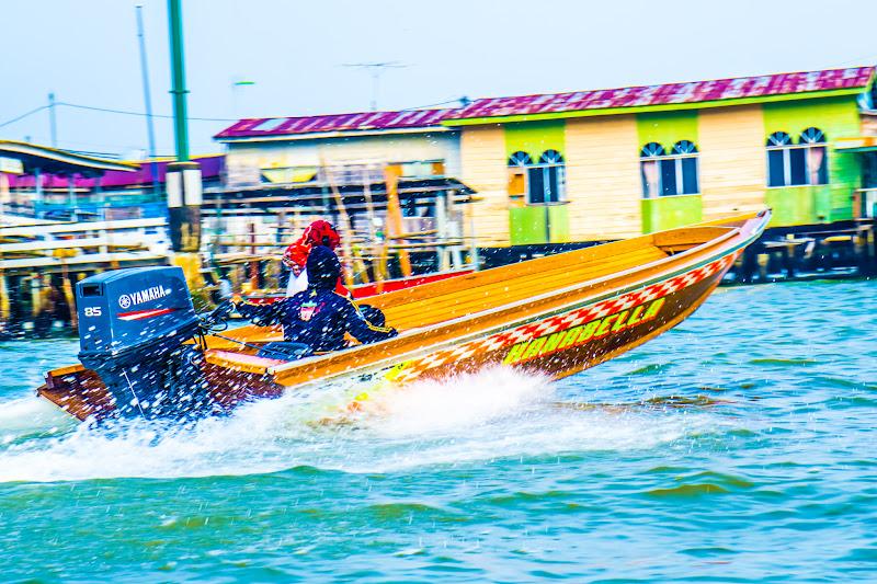 ブルネイ 水上タクシー4
