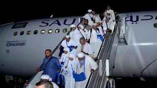 Hadj 2016 : arrivée du 1er groupe de hadjis des Lieux Saints de l'Islam à l'aéroport de Constantine