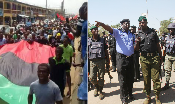Nigeria Police Disagree with IPOB's Sit-At-Home Order, Warns Public