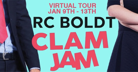 Blog Tour Review ft Giveaway- CLAM JAM by RC Boldt