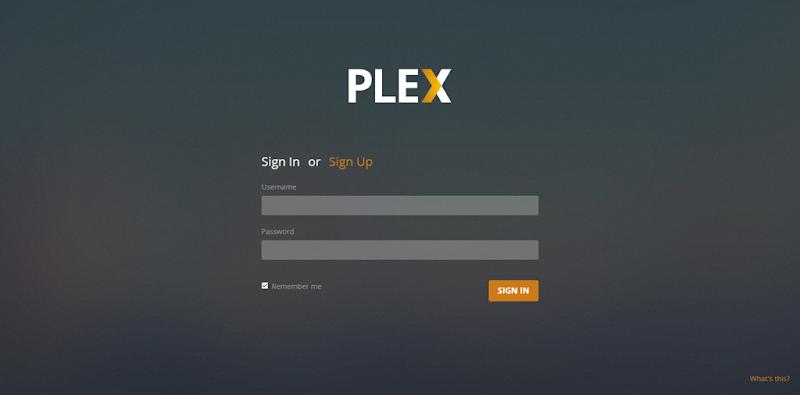 plex sign in