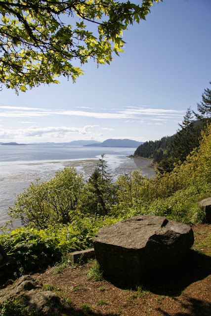 View over the Chuckanut tideflatsCredit: Peter James Photography