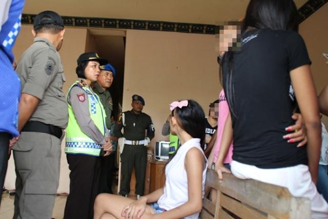 Operasi Pekat, Polsek Ngawi Kota Sasar Rumah Kos
