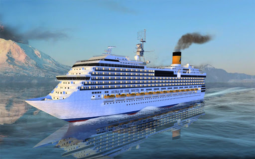 Big Cruise Ship Simulator Games : Ship Games screenshots 8