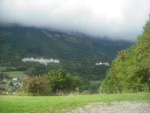Photo: Chalets above St Hilaire