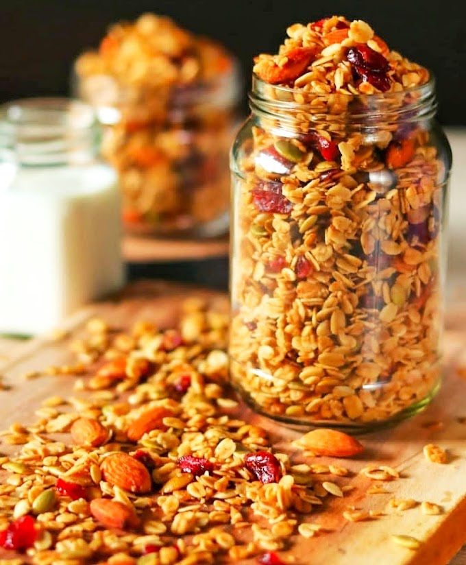 Homemade Granola Recipe | Breakfast Care