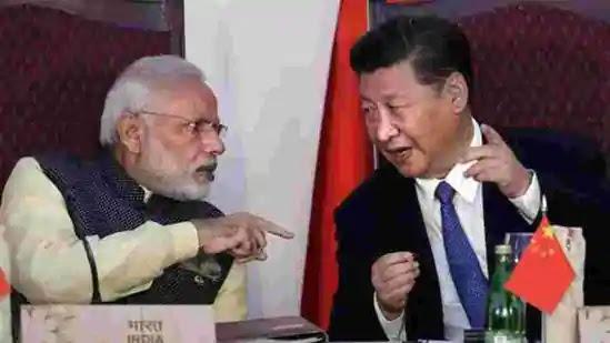 PM Modi with Xi jinping