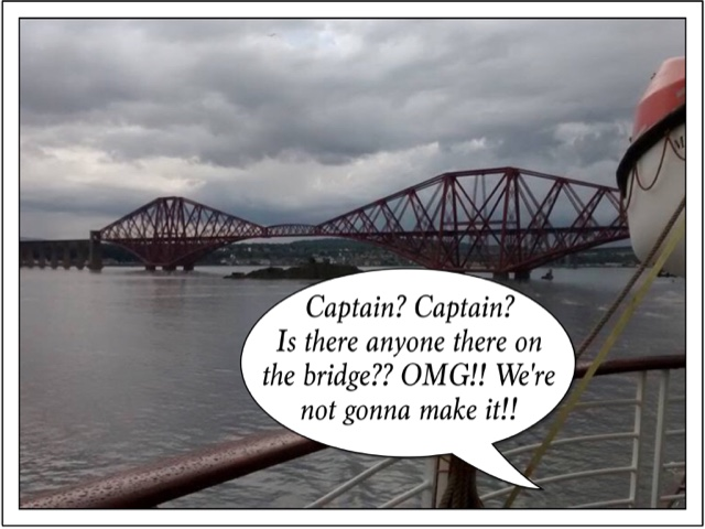 A bridge too far.