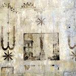 Château de Vincennes : donjon, cellule nord-est, décor peint, islam