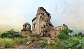 Ruins of a pre-partition Gurdwara, near Lahore